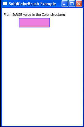 From ScRGB values in the Color structure
