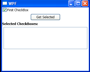 Handle CheckBox checked events