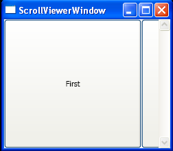 WPF Horizontal Stack Panel