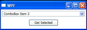 WPF If The User Has Entered Text Into The Combo Box Instead