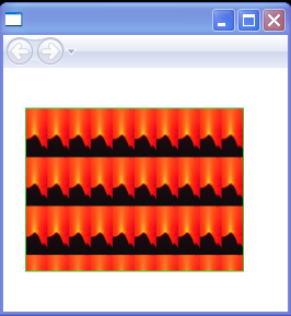 WPF Image Brushs Tiles Are Set To10 By30 Of The Output Area