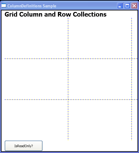 Is Grid ReadOnly