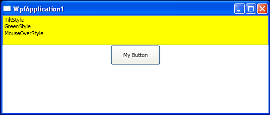 Load style defined in Xaml and apply to the Button
