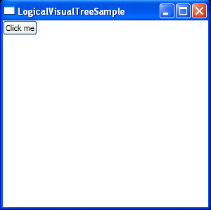 WPF Logical Visual Tree Sample