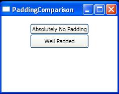 Padding Comparison