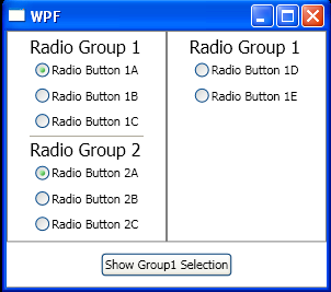 WPF Radio Button Checked Event Handler