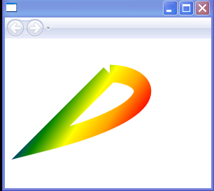 Rainbow color Animation by GradientStops[index].offset