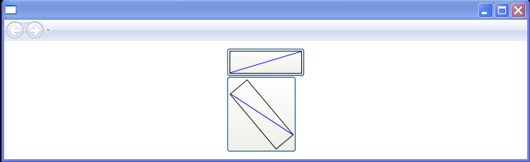 WPF Rotation Showing Bounding Box