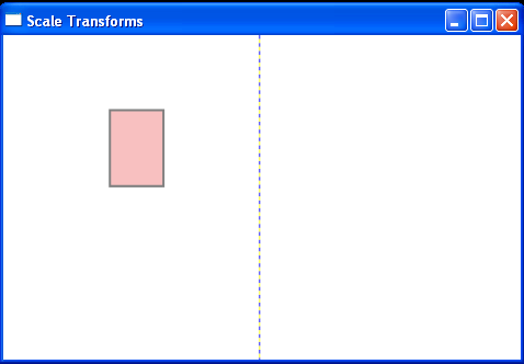 WPF Scaling Parameters Scale X And Scale Y Are Animated