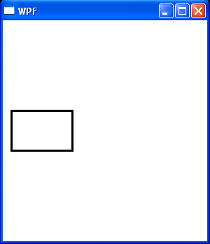 Rectangle with explicit size and position : Rectangle