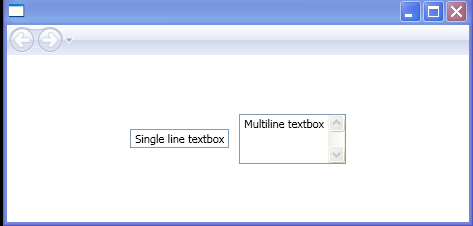 Single line and Multiline TextBox