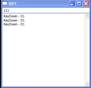 TextBox KeyDown