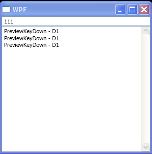 TextBox PreviewKeyDown