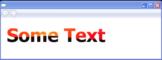 Text's Foreground = ImageBrush. The resulting text is filled with an image