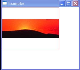 WPF The Image Brushs Content Is Vertically Centered