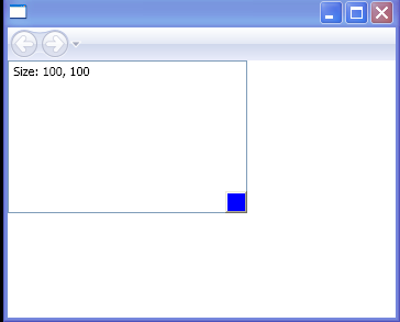 WPF Use A Thumb To Resize A Canvas Control By Responding To The Drag Delta Event