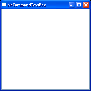 WPF Use Key Binding To Bind Key Event To Text Box Input Bindings