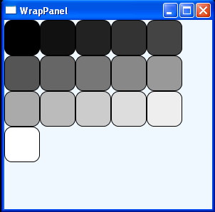 WPF Use R G B Color To Fill Rectangle