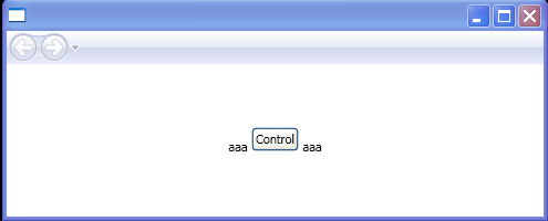 Using InlineUIContainer to mix text and a Button