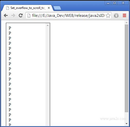 Index of tutorials html cssimage layout overflow - Div overflow auto ...