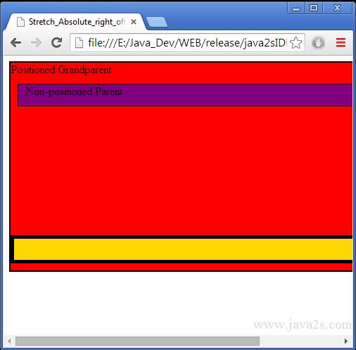 html offset