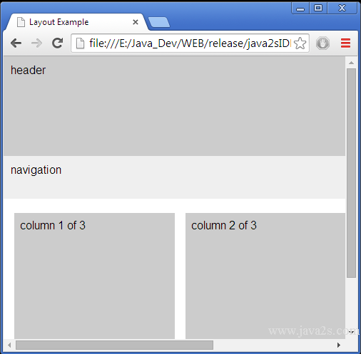 Set min height for three column layout in html and css - Css div height ...