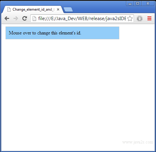 Mouseover (hover) on touch devices using jquery.